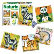 Naturin Puzzle Animali Giungla Diset
