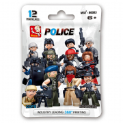 Bustina con omino poliziotto Sluban