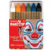 Trucchi 6 matite colorate