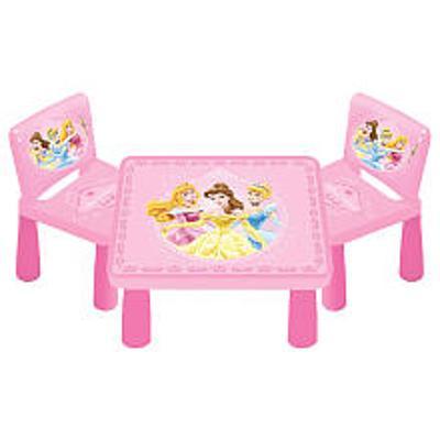 Tavolo con 2 sedie principesse disney giochi giocattoli - Tavolo sedie bimbi ...