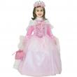 Costume principessa in rosa 3/4 anni