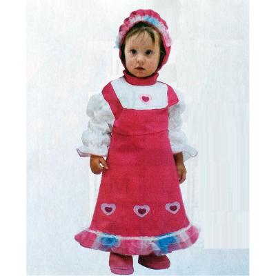 Costume piccola cuoricina tg. 3/4 anni