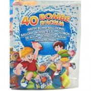 Busta bombe d'acqua 40 palloncini