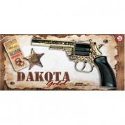 """Pistola """"Dakota Gold"""" 8 colpi per bambini"""