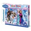 Puzzle Super Color 104 pezzi Frozen
