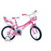 "Bicicletta 14"" Flappy girl Dino Bikes"