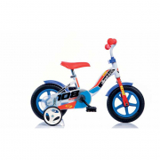 "Bicicletta 108FL blu 10"" Dino Bikes"