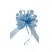 Fiocco azzurro nascita 50 pezzi