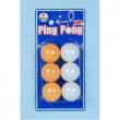 Palline Ping Pong 6 pezzi
