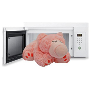 Orso rosa peluche termico Warmies cm. 30