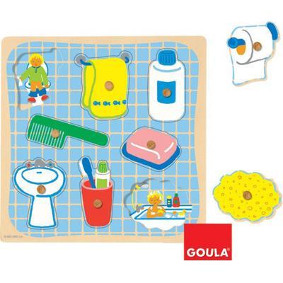 Puzzle in legno Bagno bimbi Goula - Giochi - Giocattoli
