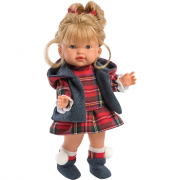 Bambola bionda 28cm
