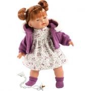 Bambola Alice 33 cm con ciuccio