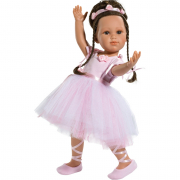Bambola Olga ballerina 42 cm da collezione