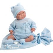 Bambola Newborn 40cm con coperta