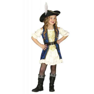 Costume piratessa 7/9 anni