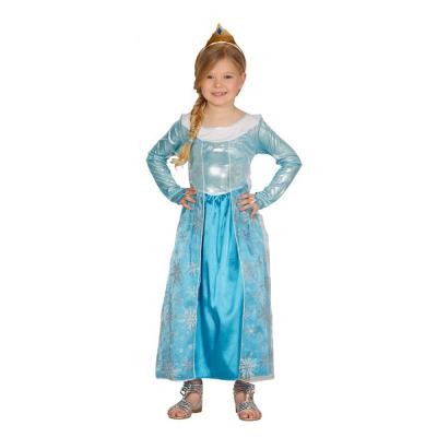 Costume principessa del ghiaccio 7/9 anni