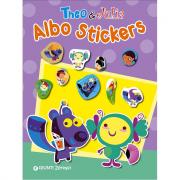 Theo & Julia Albo stickers con adesivi