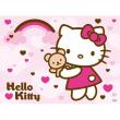 """Puzzle """"Hello Kitty - Arcobaleno"""" 100 pezzi"""