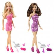 Barbie Glamour ass. T7580 Mattel