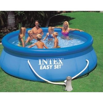 piscina easy set 366 28146 intex giochi giocattoli. Black Bedroom Furniture Sets. Home Design Ideas