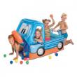Camion gonfiabile con 50 palline