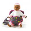 Marsupio porta bambola rosa/grigio Bayer chic 2000