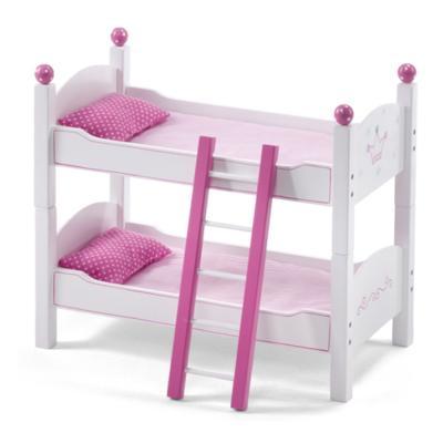 Letto a castello in legno per bambole princess bayer - Giochi a letto per lei ...