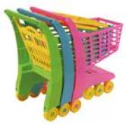 Carrello spesa giocattolo in plastica