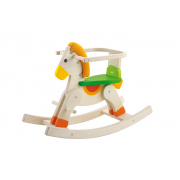 82328 Cavallo a dondolo cavalcabile baby