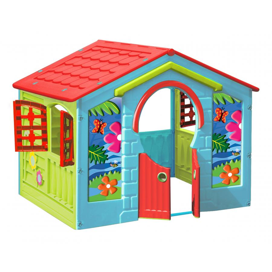 Casetta gioco in plastica farm giochi giocattoli for Casitas plasticas para jardin