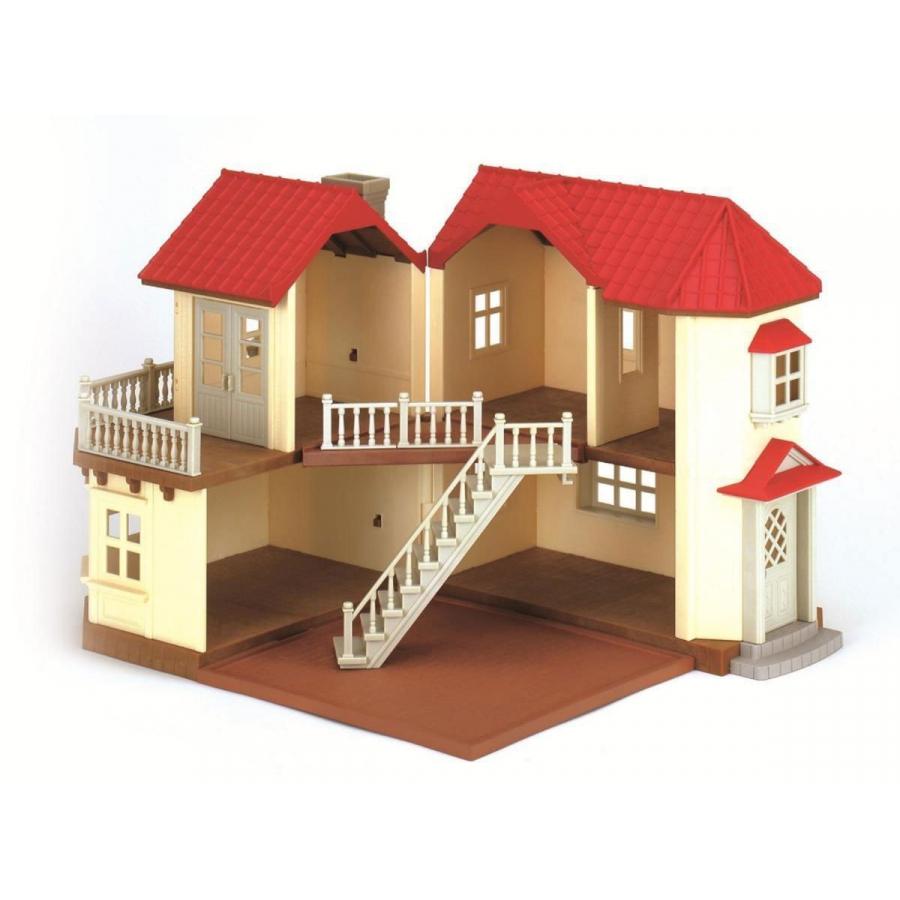 Casa grande con luce vuota ii versione giochi giocattoli for Piani casa ranch con 3 box auto