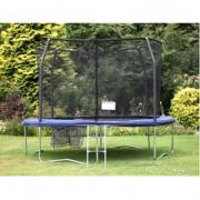 Trampolino elastico Deluxe cm 300 + rete protezione