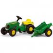012190 RollyKid John Deere con rimorchio Rolly Toys