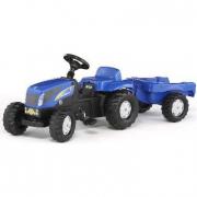 013074 New Holland T 7550 con rimorchio Rolly Toys