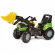 710034 Deutz Agrotron con ruspa Rolly Toys