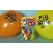 Palloncini Auguri 10 pezzi
