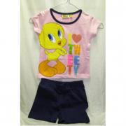 Completino Titti T-shirt+pantaloncini Tg. 5 anni