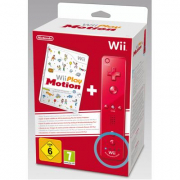 Wii Play Motion + Controller Plus Rosso
