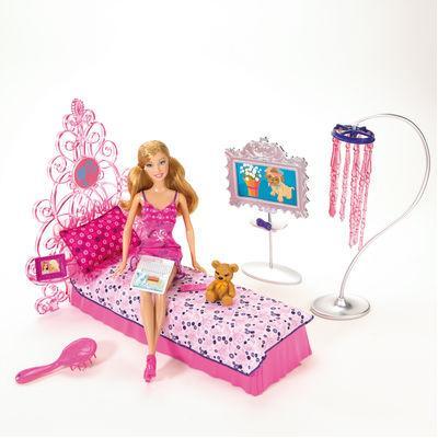 Barbie e arredo La camera da letto - Giochi - Giocattoli