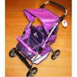 Passeggino gemellare per bambole buggy fucsia Bayer chic 2000