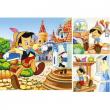 """Puzzle """"Pinocchio e la Fata"""" 3x49 pezzi"""