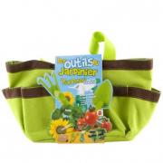 La borsa del giardiniere con semi e accessori