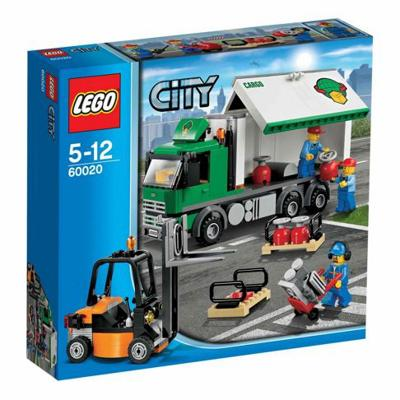 60020 Lego City Camion merci 5-12 anni