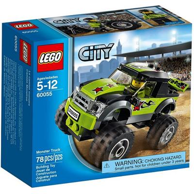 60055 Lego City Monster Truck 5-12 anni