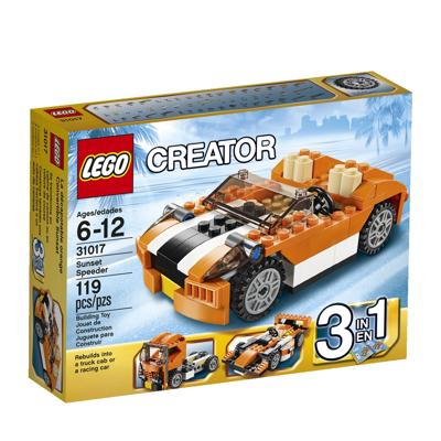 31017 Lego Creator Sunset Speeder 6-12 anni