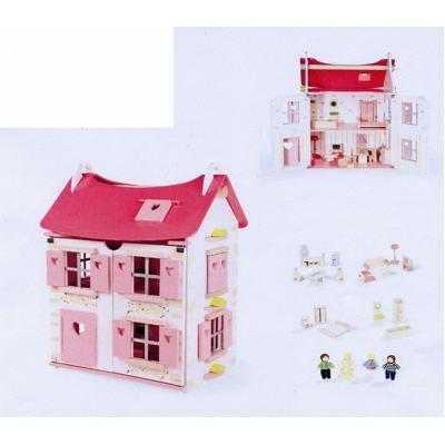 Casa delle bambole in legno janod ebay - Casa delle bambole in legno ikea ...