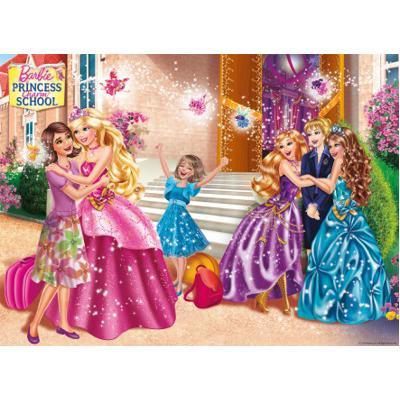 Puzzle &;barbie l'accademia per principesse&; 100 pezzi