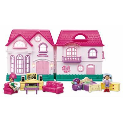 Casa delle bambole con tanti accessori personaggi parti for Planimetrie delle case dei sogni dei kentucky