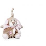 Carillon cagnolino rosa 15cm